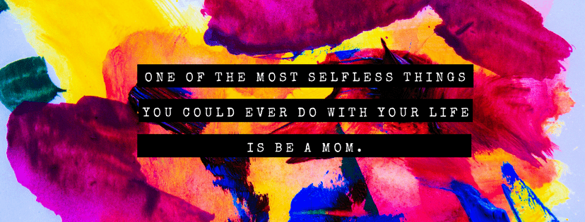 selfless-mom